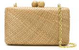 Serpui - straw clutch bag - women - Straw - One Size