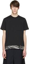 Oamc Black Palm Rib T-shirt