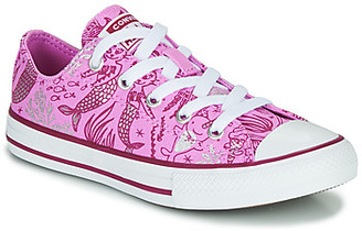 Converse CHUCK TAYLOR ALL STAR UNDERWATER PARTY girls's Shoes (High-top Trainers) in Pink