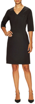 Josie Natori Seamed Fit And Flare Dress