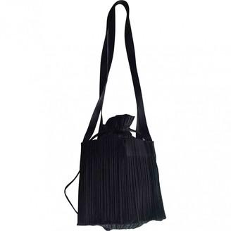 Issey Miyake Black Cloth Handbags