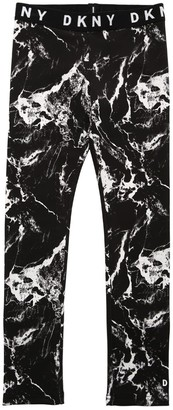 DKNY All Over Print Triacetate Leggings
