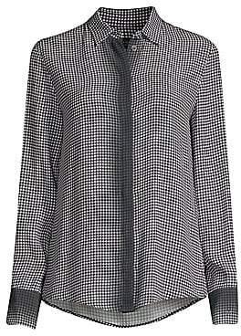 Piazza Sempione Women's Gingham Dégradé Button-Down Shirt