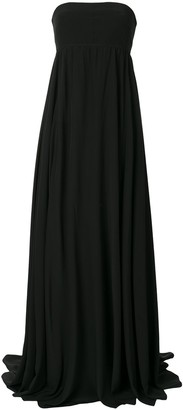 Vera Wang Empire Waist Silk Dress