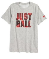 Nike Boy's Lebron Just Ball Dri-Fit T-Shirt