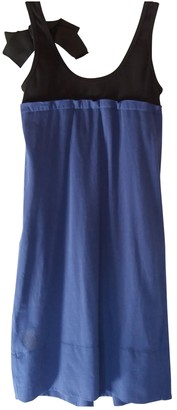Sonia Rykiel Blue Cotton Dresses