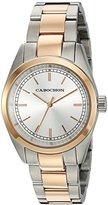 Cabochon Women's 531 De Ce Monde Analog Display Swiss Quartz Silver Watch