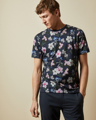 Ted Baker JUICEY Cotton floral print T-shirt
