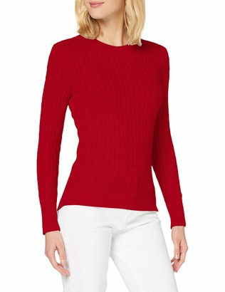Superdry Women's Croyde Cable Crew Sweater