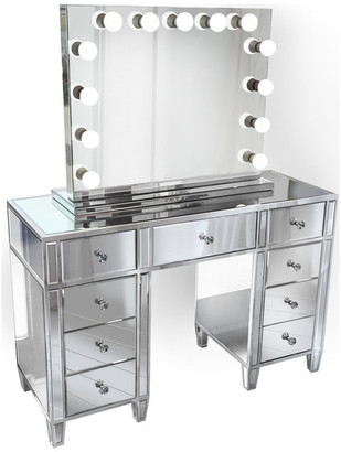 Bedroom Vanity With Mirror Shop The World S Largest Collection Of Fashion Shopstyle