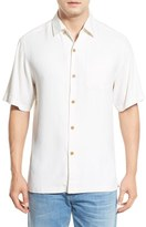 Tommy Bahama Men's 'Havana Herringbone' Silk Camp Shirt