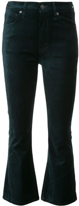 Citizens of Humanity cropped velvet jeans