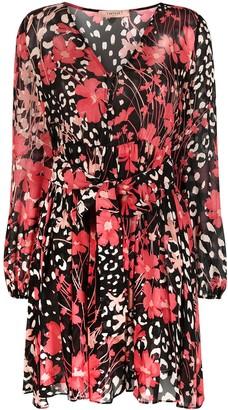Twin-Set Floral-Print Dress