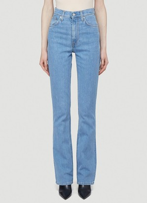 Helmut Lang Hi Boot Cut Jeans