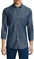 Brooks Brothers Cotton Anchor Jacquard Sportshirt