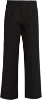 The Row Seloc cropped stretch-cotton trousers