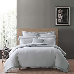 Charisma Luxe Cotton & Linen Duvet Cover Set, Full/Queen