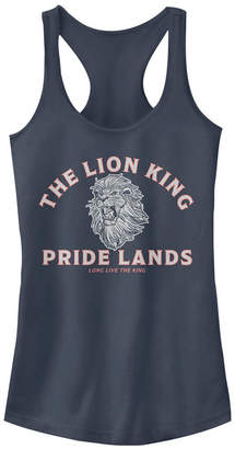 Disney Juniors' Lion King Minimal Lion King Back Ideal Racerback Tank Top