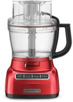 13-Cup Food Processor with Mini Bowl in Empire Red