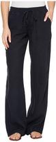 Allen Allen Beach Linen Pants Women's Casual Pants