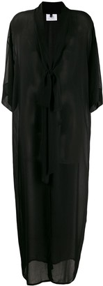 Alchemy Sheer Long-Length Coat