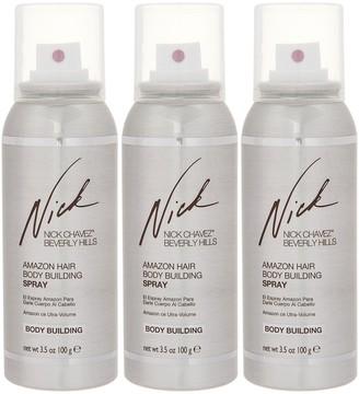 Nick Chavez Amazon Body Building Hair Spray Trio