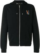 Versace geometric logo hoodie - men - Cotton - S
