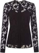 HUGO BOSS Banela lace blouse