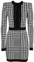 Balmain Pepita Houndstooth Dress