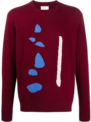 Leret Leret No. 2 abstract knit jumper