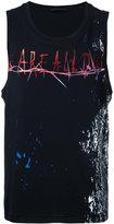 Haider Ackermann rock print vest - men - Cotton - S