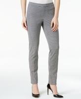 Alfani Petite Printed Pull-On Skinny Pants, Created for Macy's