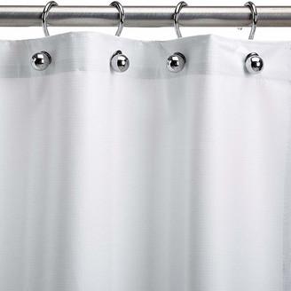 "CSI Bathware Assure White Vinyl Shower Curtain, 54""x72"""