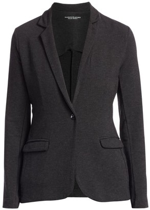 Majestic Filatures French Terry Single-Button Blazer
