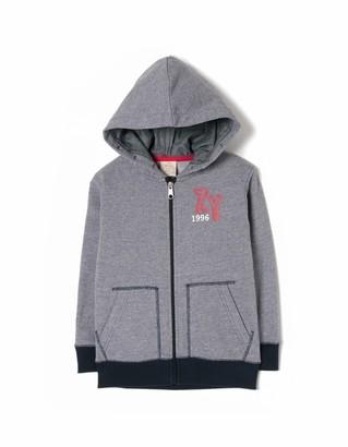ZIPPY Boy's Zb0204_455_7 Hooded Jacket