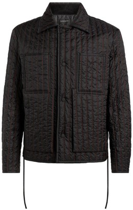 Craig Green Topstitched Quilted Worker Jacket
