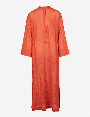 Three Graces London August stretch-cotton midi dress