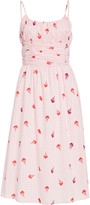 HVN Lucy Smocked Cotton Dress