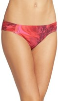 Tommy Bahama Poppy Red Bikini Bottoms