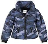 SAM. Girls' Camo Freestyle Down Jacket