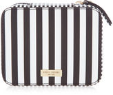 Henri Bendel Centennial Stripe Travel Jewelry Case