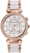 Michael Kors MK5774 Parker Rose Tone Chronograph Ladies Watch