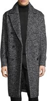 Theory Oversize Wool-Blend Boucle Coat