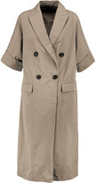 Brunello Cucinelli Gabardine trench coat