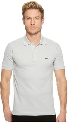 Lacoste Short Sleeve Classic Pique Polo Shirt (Nimbus) Men's Short Sleeve Pullover
