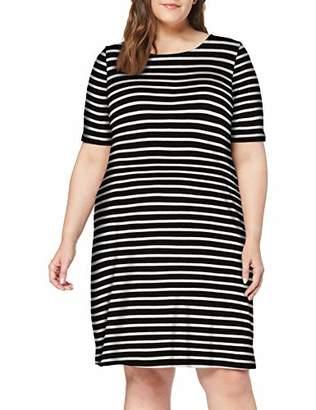 ONLY Carmakoma Women's Carbandana S/s Dress,16 (Size: )