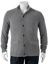 Big & Tall SONOMA Goods for LifeTM Classic-Fit Wool-Blend 5GG Mockneck Sweater