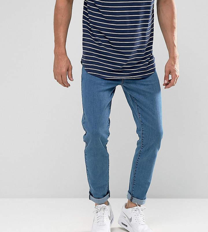 Brooklyn Supply Co. Brooklyn Supply Co Skinny Fit Jeans Bright Blue