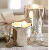 Silver-Plated Candle Pots