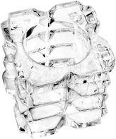 QUALIA GLASS Qualia Glass Skylight 2-pc. Candle Holder